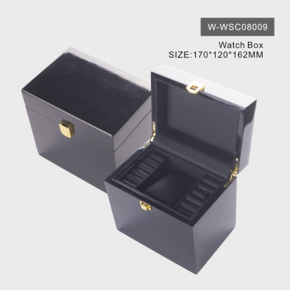 Glossy Black Watch Box